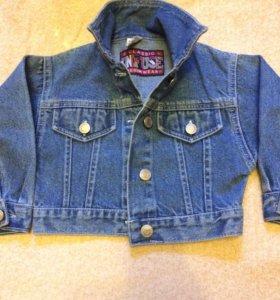 Джинсовая Детская курточка