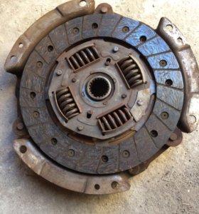 Корзина и фрикционный диск сцепления