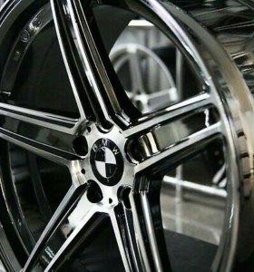 ZP5 5x120 R19 9,5 ET35 BMW Черный хром