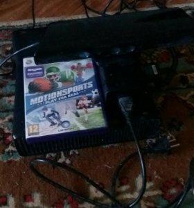 Xbox 360+kinect+джойстик+игра