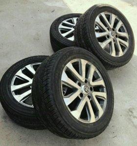 285 50 R20 Dunlop PT2A диски toyota lexus