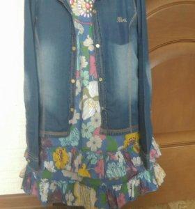 """Рубашка джинсовая """"Mexx"""" 134-146"""