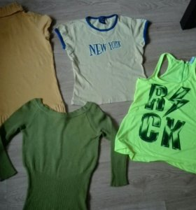 Одежда пакетом на р.46