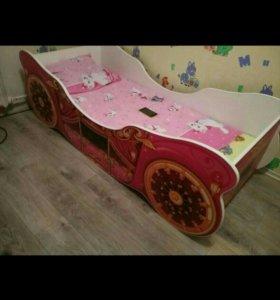 Продам кровать карету