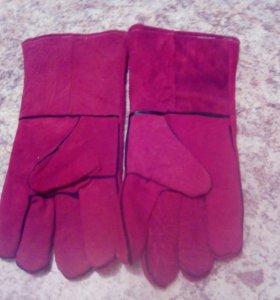 Перчатки бризентовые