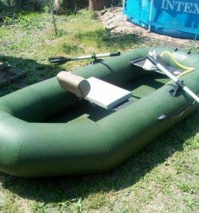 Продам лодку пвх фрегат 3-м