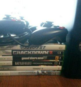 Xbox 360(slim) на 500гб