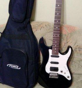 Электронная гитара (чехол в подарок)