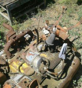 Двигатель на комбайн