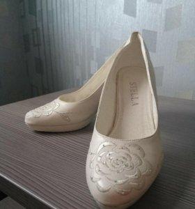 Свадебные туфли 37 р. Торг