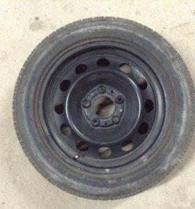 Bridgestone Turanza 205 55 r16 на диске BMW колесо