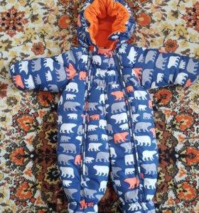 Демисезонный детский комбинезон 68 размер