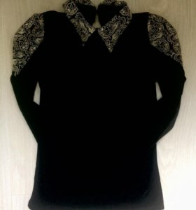 Бархатная кофта, джемпер, блуза