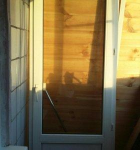 Дверь балконная ПВХ