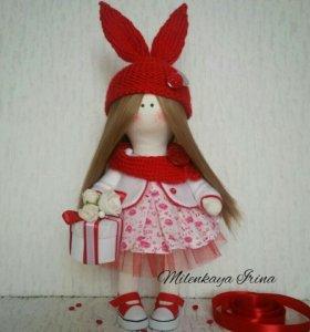Интерьерная кукла малышка