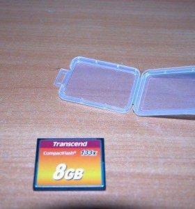 Карта памяти compact flash card (CF)