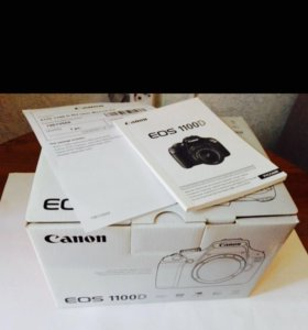 Зеркалка Canon 1100D 18-55 IS II KIT. Новая