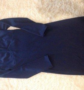 Платье атласное  42р