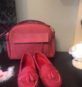 Мокасины и сумка