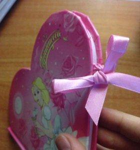 Блокнот для девочек