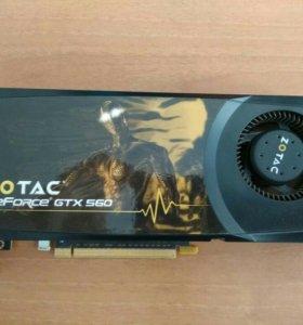 Zotac GeForce GTX 560, 1Gb, 256Bit, ZT-50708-10M