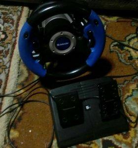 Руль defendr mx-v9 vibration.Цена договорная