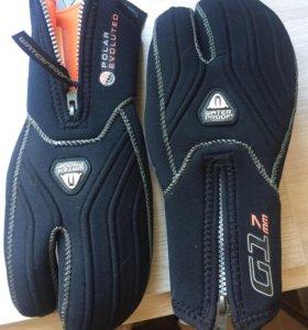Перчатки для дайвинга и подвохов