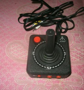 Atari joystick tv game