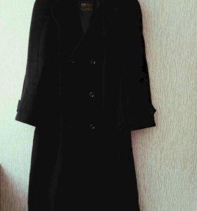 Драповое пальто, р. 60-62