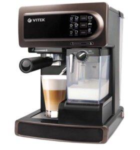 Кофеварка рожкового типа VITEK VT-1517 BN