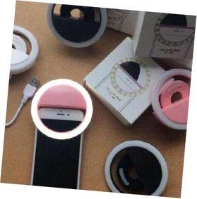 Круг для селфи на смартфон (юсб) светящаяся