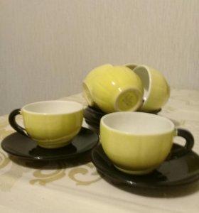 Кофейные чашки. Набор 6 шт