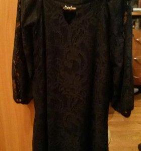 Платье чёрное новое.
