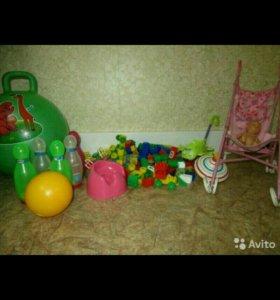 Игрушки пакетом