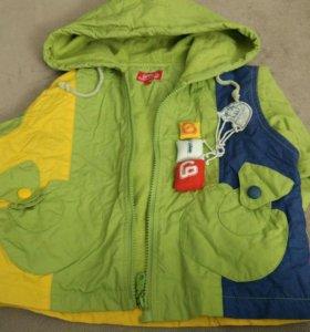 Куртка ветровка для мальчика р. 98