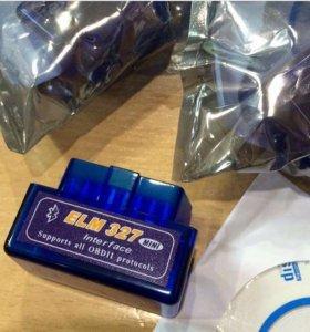 Диагностический Bluetooth сканер ELM327 v2.1