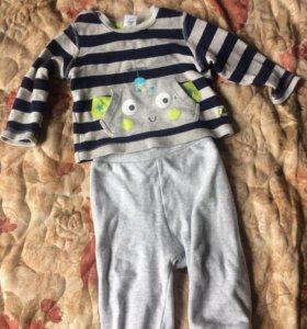 Итальянский детский костюм: штаны+толстовка
