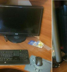 Игровой ПК с 3D монитором.