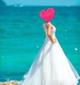 Свадебное платье дизайнера Натальи Романовой 44-46