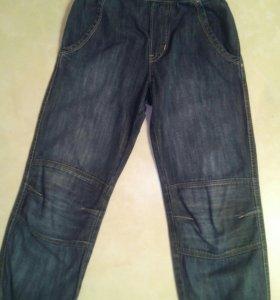 Летние джинсы для девочки H&M, рост 122-128