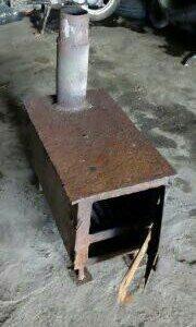 Печь в гараж или на дачу