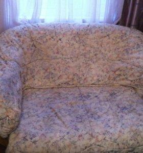 Мебель для отдыха двойка: диван+кресло