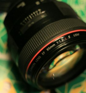 Canon 85мм 1.2L ll