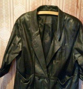 Куртка кожаная женская, б/у