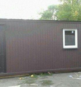 Бытовка. Блок контейнер. 6х2,3