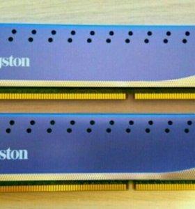 Оперативная память DDR3 Kingston 8 gb (4gb x2)