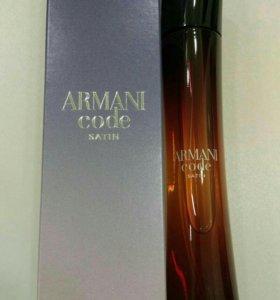 Парфюмерная вода Giorgio Armani Satin