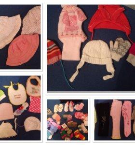Юбочки,штанишки,носочки,шапочки для девочки