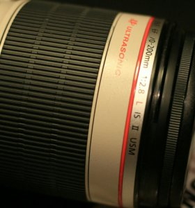 Canon 70--200mm 2.8 ls