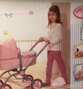 Коляска и переноска для куклы Baby Annabell 2 в 1